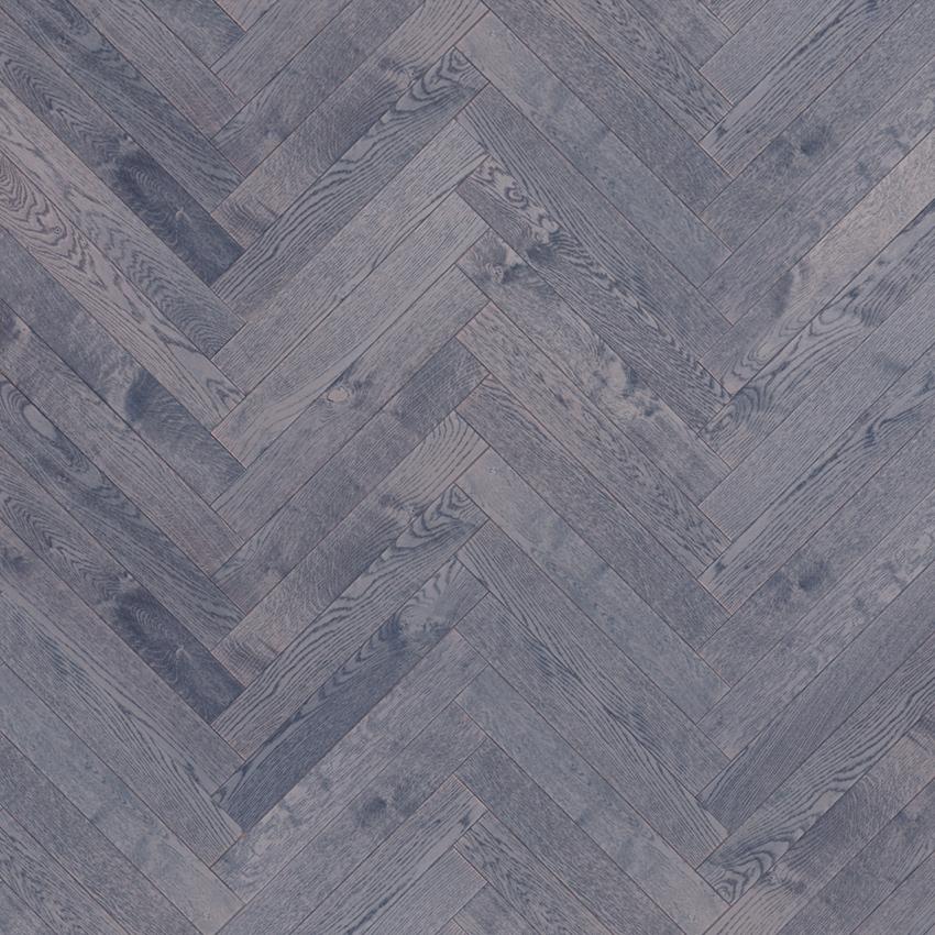 Deep Grey - Herringbone Variation