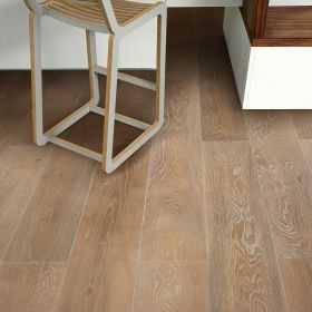 White PC Brown (European Oak - Single Strip)