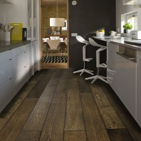 Black - (European Oak - Single Strip)