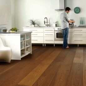 Ice Brown-(European Oak - Single Strip)