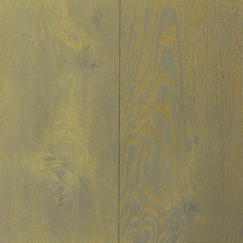 Dark Grey - Gold (European Oak - Single Strip)