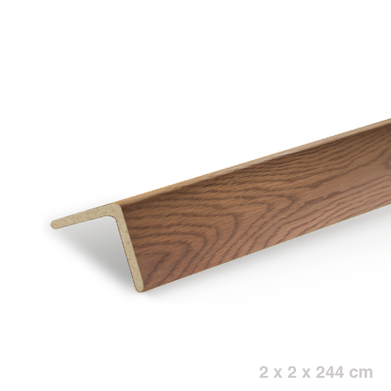 L-Angle/ Stair Nose - Ice Brown