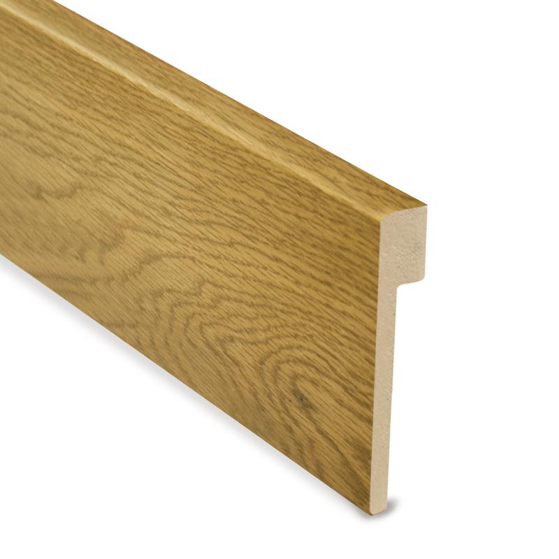 L Cover Skirting- Oak