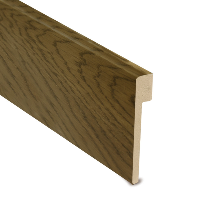 L Cover Skirting- Dark Oak