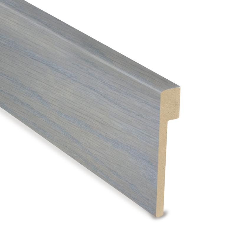 L Cover Skirting - PCE Intense Grey - White