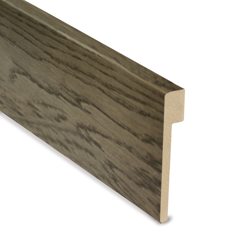 L Cover Skirting- Fumed Castle Brown