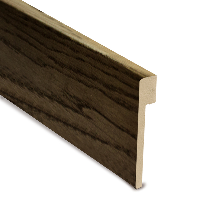 L Cover Skirting- Charcoal Oil Finish