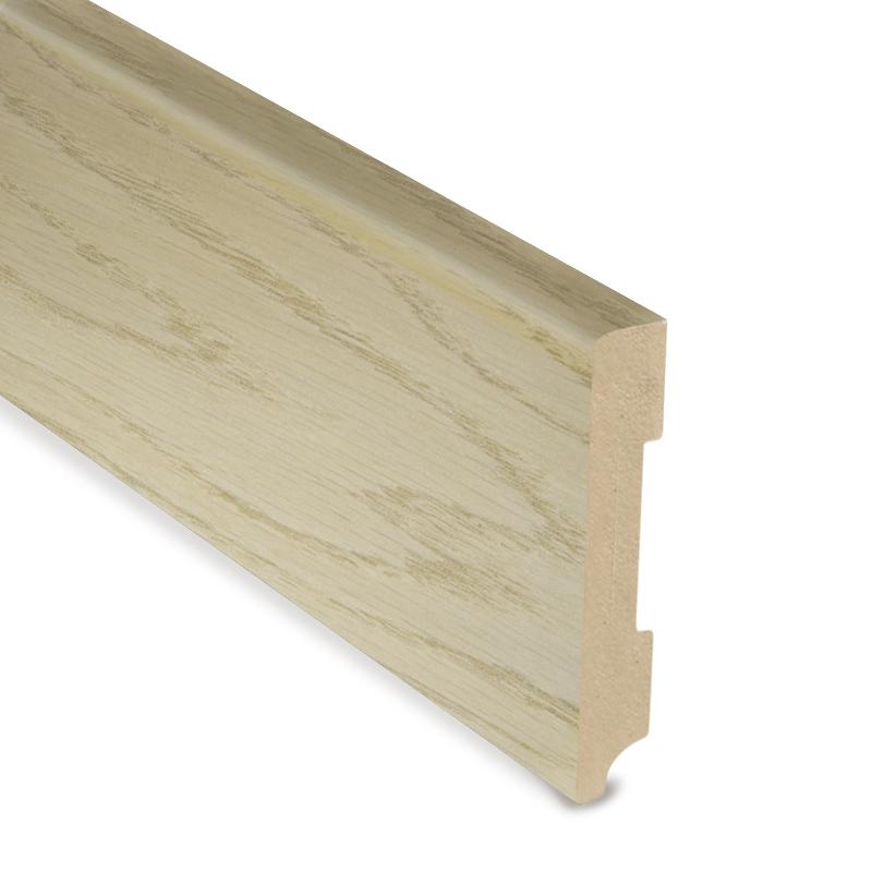 Standard Skirting - PCA White - Smoked Oak