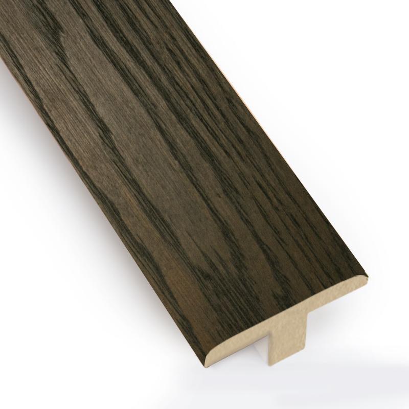 T-Bar/ Door Bar Oak Stained Black Walnut