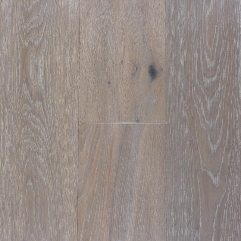 PC Brown - White Washed (European Oak - Single Strip)