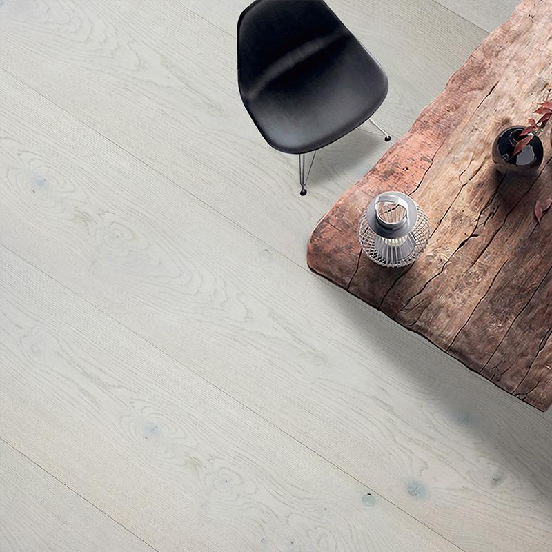PCA White / Mud Light (European Oak - Single Strip)