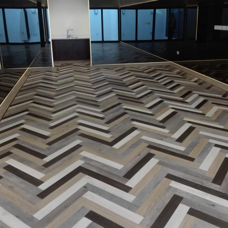 Gerbür Nature LVT - Herringbone Pattern