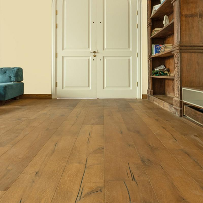 Swiss Hardwoods - Pinmon – Castle Brown