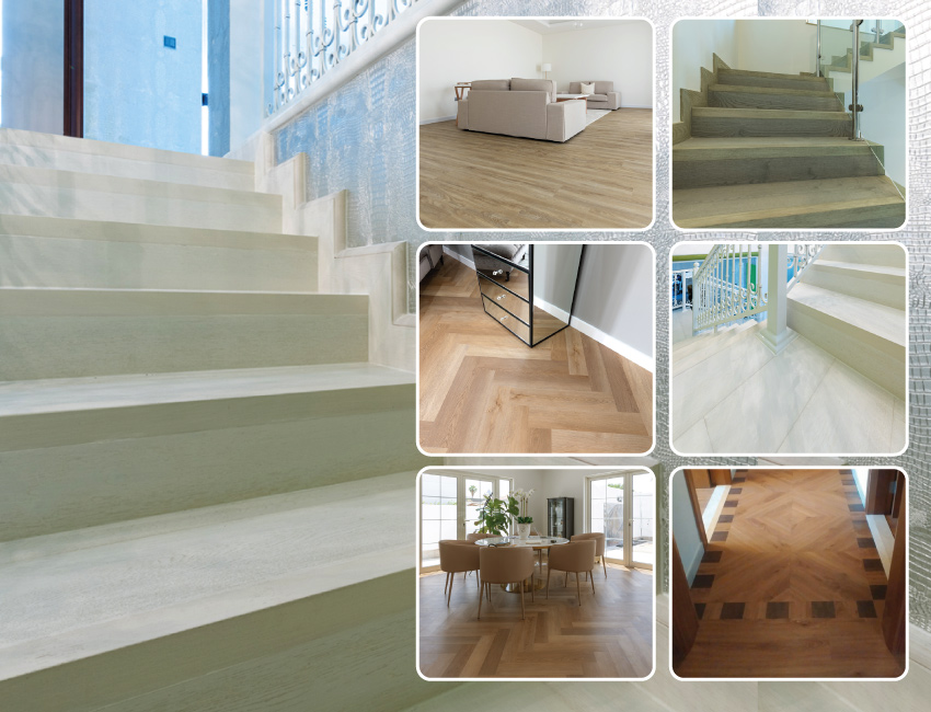 Flooring installation in Domestic