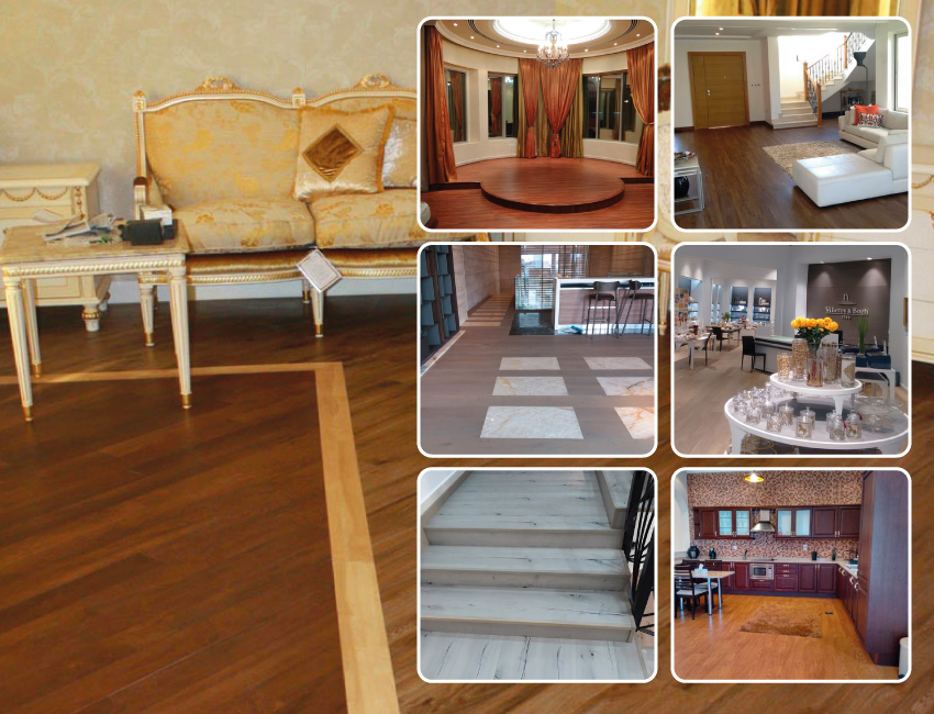 Flooring installation in Residentials and Villas